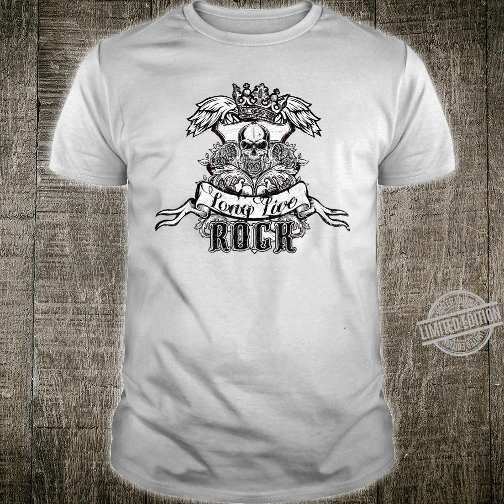 Long Live Rock heavy metal Vintage Shirt