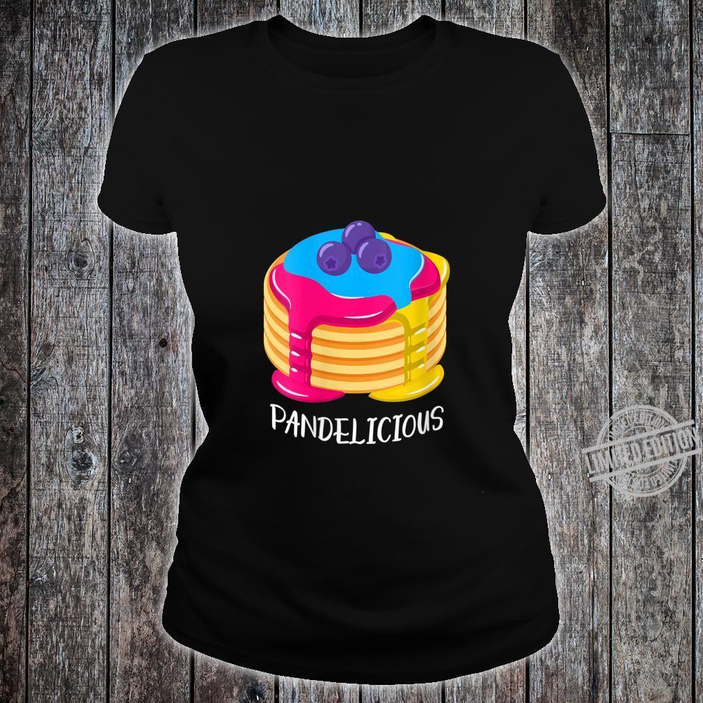 Womens Pansexual Pride Flag Pandelicious Shirt ladies tee