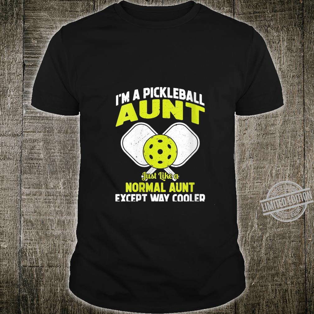 Womens Pickleball Aunt Pickleball Player for Her Shirt